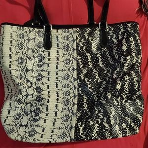 Authentic Coach Animal print bag.